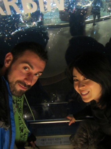 Top of the Namsan Tower
