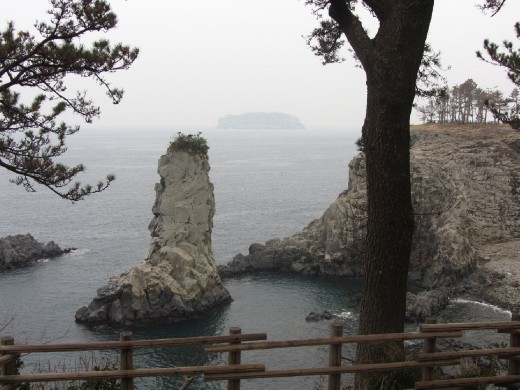 Jusangjeolli Cliffs Odoelgae Rock