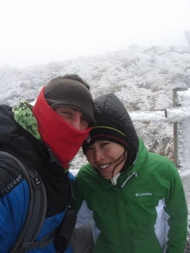 We made it! Hallasan mountain (한라산)