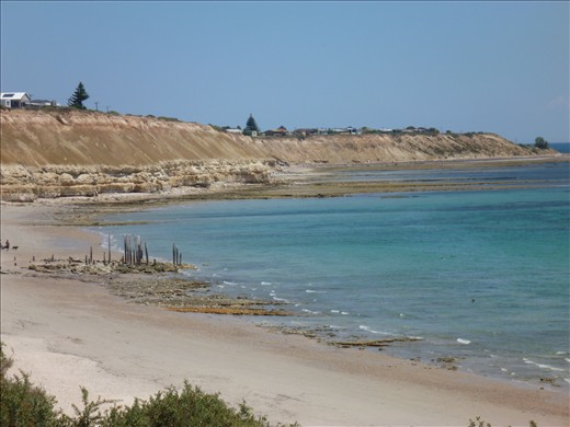 You must take a dip at Aldinga Beach.