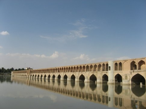 Isfahan. Puente Si o seh.