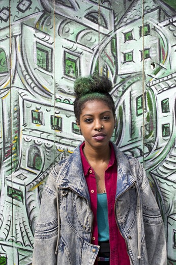 San Francisco is a multicultural city; it's racial and cultural diversity, along with a young and creative atmosphere are key features contributing to characterize it as the most liberal and open-minded city of the US. This is the portrait of a young artist who took a walk around the Mission District in search for inspiration.