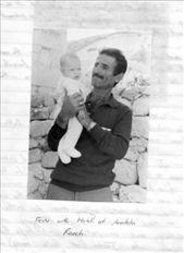 Fevsi with baby Melek (Angel) 1990: by goreme1990, Views[411]