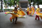 Colourful dancing in Cartagena: by gosiaw, Views[169]