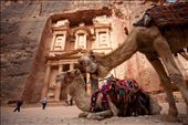 Petra must be the other gift that god give to Bedouin, after Camel. Since Petra was listed as the