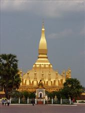 Pha That Luang Temple_Vientiane: by gracepace, Views[155]