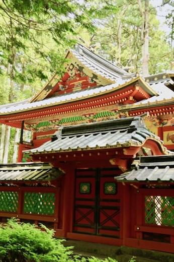 Temporary Shrine 500 years later, Rinnō-ji