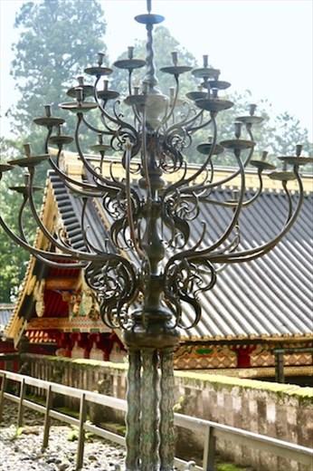 Candekabra, Tōshō-gū