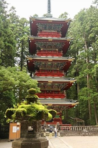 Five Storey Pagoda, Rinnō-ji Temple