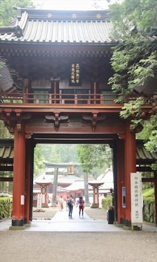 Gate to Futarasan Shrine