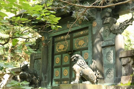 Bronze Inukimon Gate,Grave of Tokugawa Ieyasu