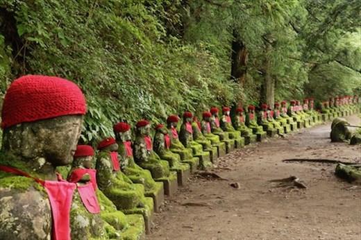 Jizo — Protectors of Children and Travelers