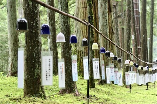 Prayer Bells ringing in the breeze, Shrines and Temples of Nikko