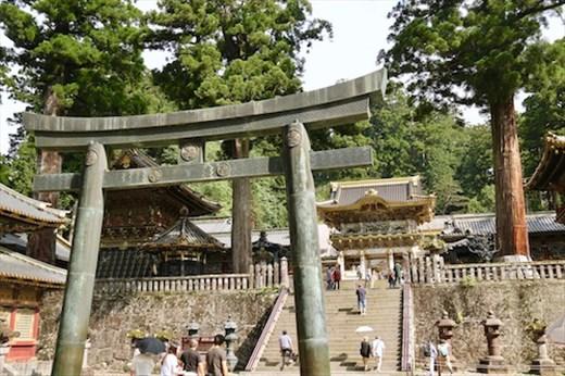 Torri Gate to Tōshō-gū Buddhist Temple