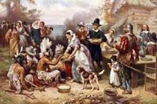 Pilgrim's First Thanksgiving, 1621