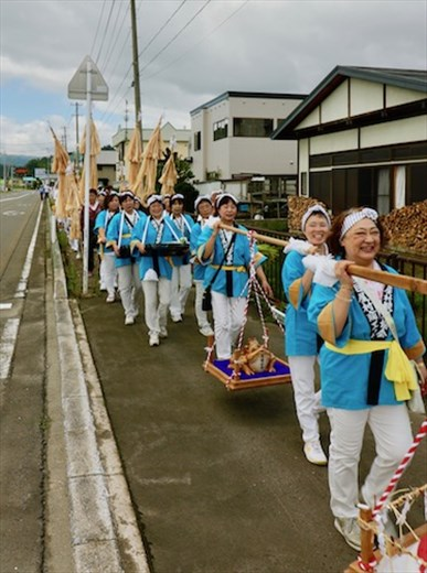Omaya Sankei Procession