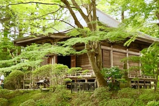 Chūsun-ji Temple buildings