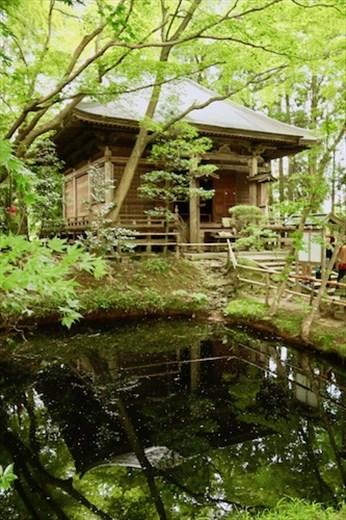 Reflections, Chūsun-ji Temple building