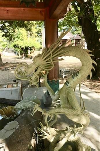 Dragon Fountain, Pagoda, Saishoin Temple Hirosaki