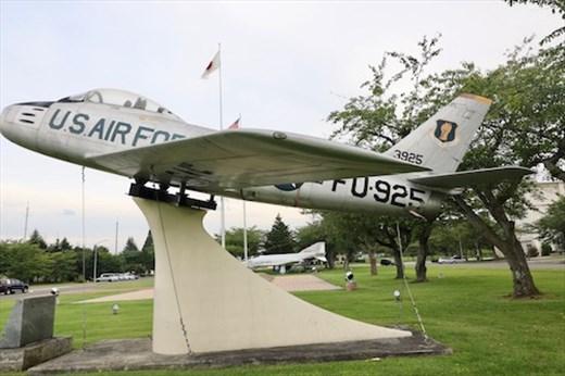F86 Sabre Jet, Misawa Air Base