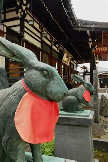 Guardian Rabbits, Saishoin Temple Hirosaki
