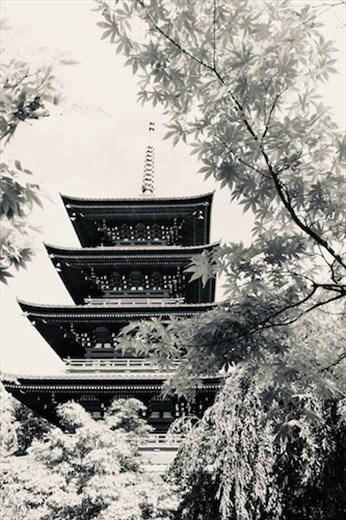 Pagoda, Pagoda, Saishoin Temple Hirosaki
