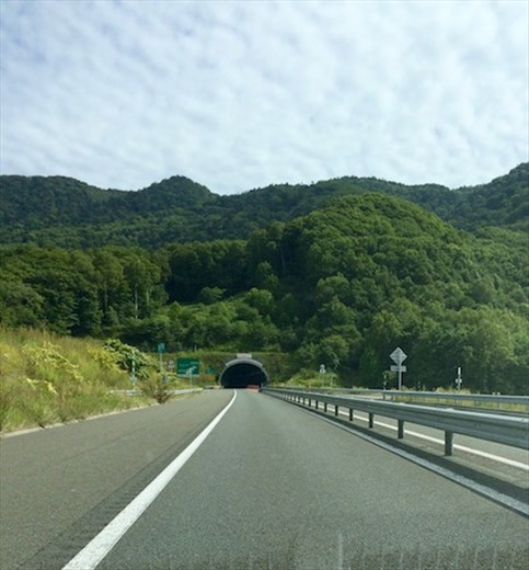 Another tunnel, Hokkaido road trip