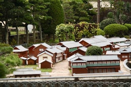 Model of the Dutch Settlement, Nagasaki