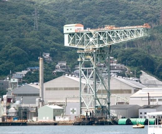 Former Mitsubishi crane, Japan's Industrial Revolution WHS