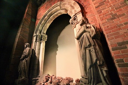 Where was god on August 9, 1945? Nagasaki A-Bomb Museum