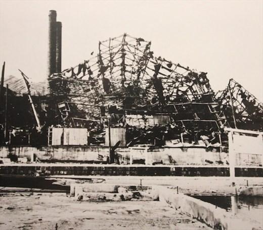 Mistubishi Arms Factory, 9 August 1945, Nagasaki A-Bomb Museum