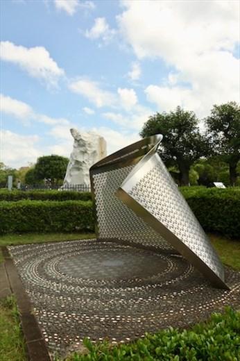 Sculptures in Nagasaki Peace