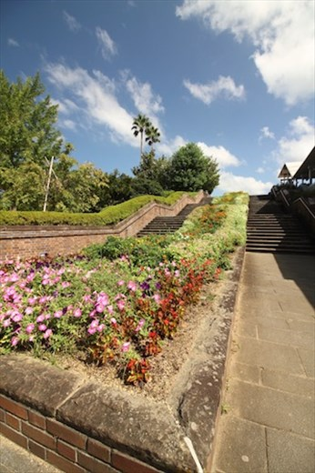 Pathway to Nagasaki Peace Garden