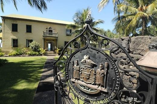 Hulihe's Palace, Kona, Hawaii