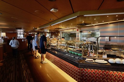Lido dining room, Holland America Noordam