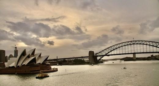 Sydney Icons—Opera House and Harbour Bridge
