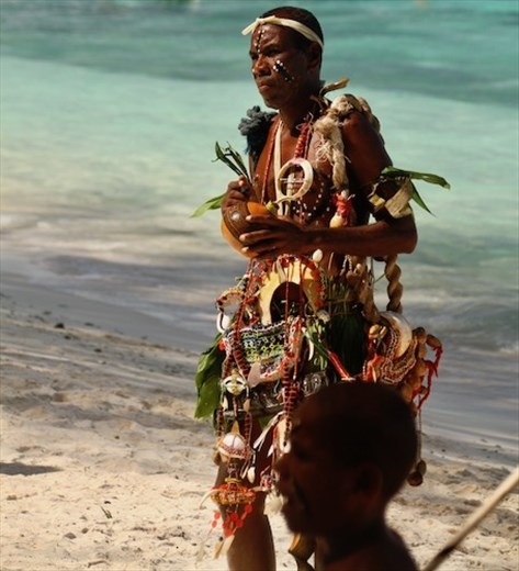 It's good to be the chief! Conflict Island, PNG