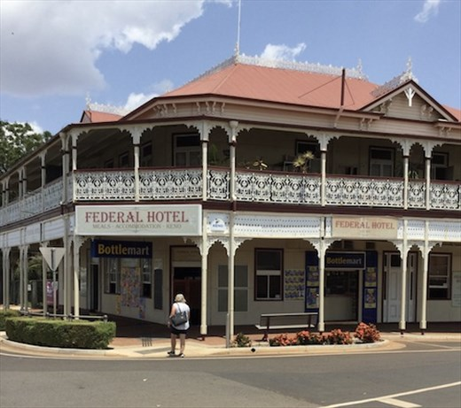 Hotel in the Queensland style