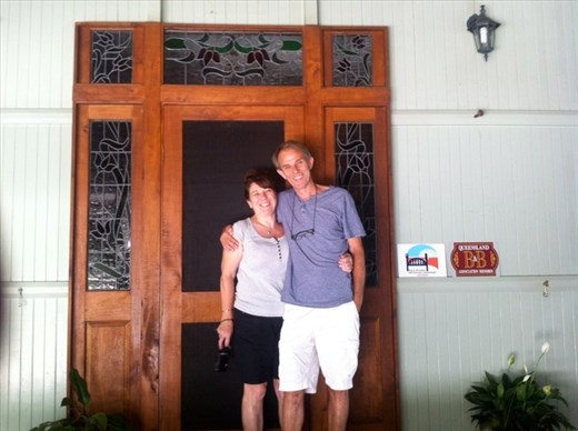 Malcolm and Christine, Amamoor Lodge
