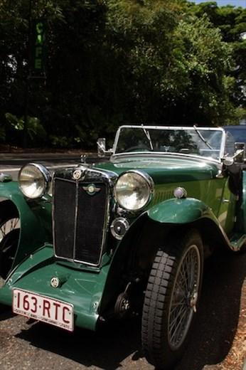 Vintage MG, Cairns