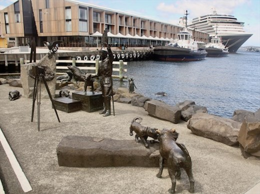 Hobart port, Tasmania