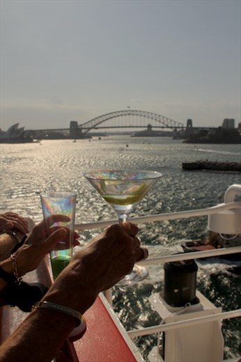 A farewell toast to Sydney