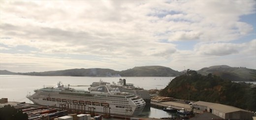 Port Chalmers from the lookout