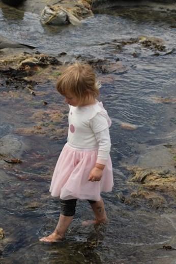 Dressed for the Beach, Stewart Island