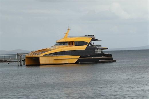Ferry to Tiritiri Matangi