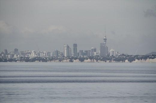 Auckland Harbor from Noordam
