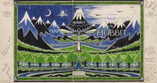 Middle Earth by JRR Tolkien himself