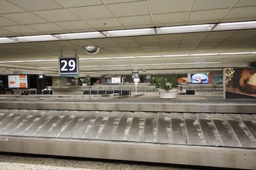 Empty Conveyors, Daniel Inouye International, Honolulu