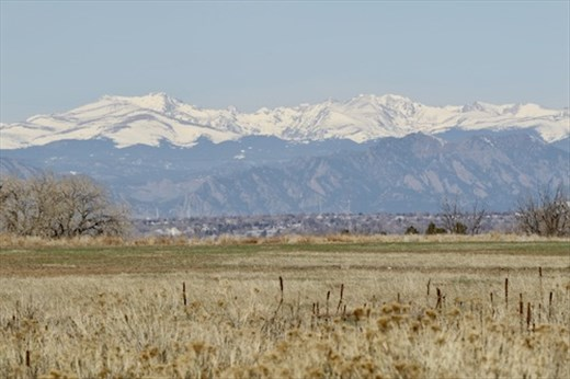 Front Range with new snow