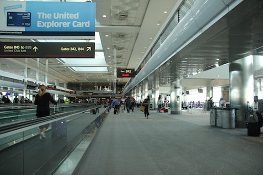 Denver International Airport in Covid times